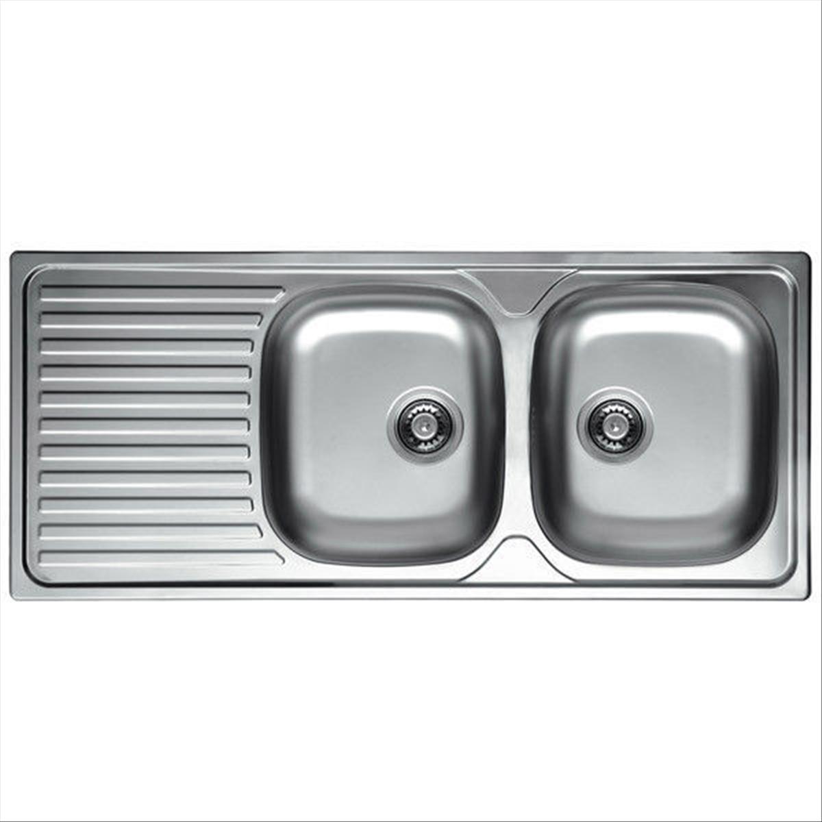 Lavelli Cucina Inox Incasso : Lavello lavandino cucina inox da incasso cm ala
